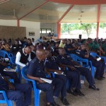 Cross section police in N/R listening to foreign affaires ministry presentation