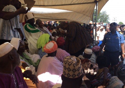 Allow peace to prevail-President urges families in Dagbon