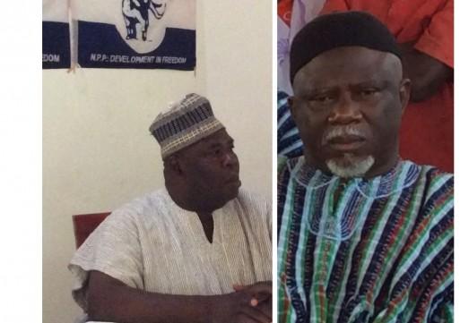 War of words between two temperamental regional party chairmen heats up: NDC Azoka tells NPP Bugri to stay away.
