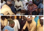 Former president Mahama supports overlord of Mamprugu kingdom with cash and cement