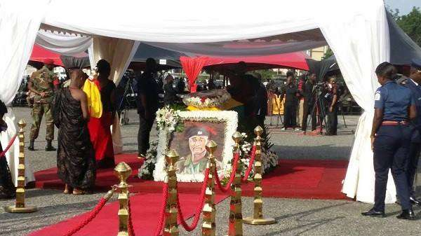A Teary-Eyed and Traumatized Nation Says Goodbye to Hero Captain Maxwell Mahama