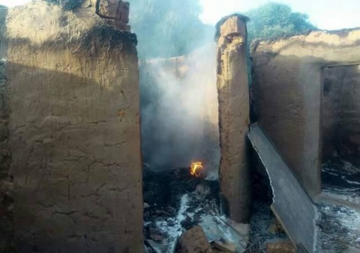 2 killed and 35 houses torched in renewed communal violence in North Gonja.