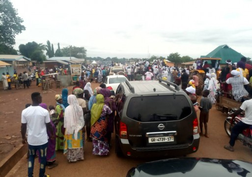 Eldest of Andani Dasana family arrived in Bimbilla after Supreme Court rule in their favor