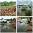 Torrential rain cut off communities, rendered several people homless