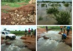 Torrential rain cut off communities, rendered several people homless