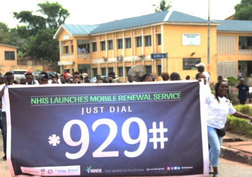 NHIS mobile renewal reduces waiting time