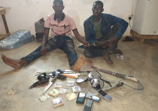 S/R: Two arrested over suspected robbery at Sawla