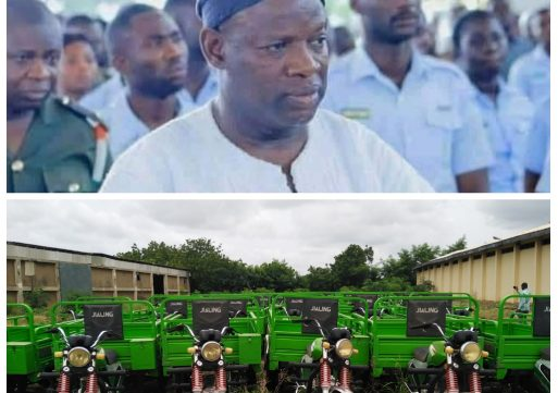 I have no hands in the missing 400 tricycles- Northern Regional Minister
